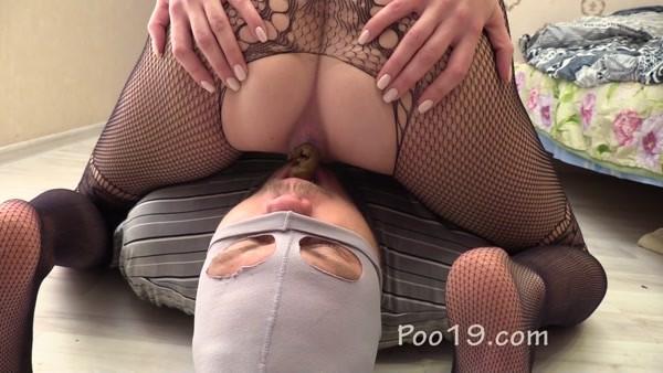 Mistress Karina - Eating girl's shit as showing of love [FullHD 1080p]