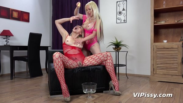 Barbie Sins and Brittany Bardot - Pissing in mouth - Double Trouble (2020 / FullHD 1080p)