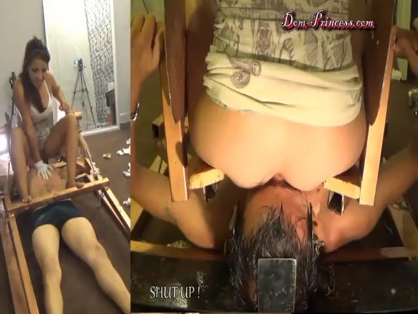 7 women the main platoon sit in the chair well and the anus and mouth are tight, shit [SD 480p]
