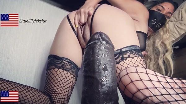 I prefer huge dicks And Self Fisting! Nympho Slut Addicted To Huge Cock (FullHD 1080p)