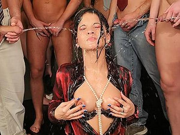 Cindy Gold - Fucking and Fully clothed pissin -The Sacrificial Seed (SD 540p)