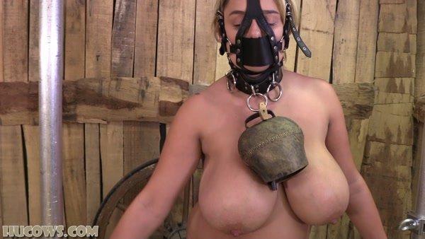Katie Thornton - Bondage and Milk Machine - Milked Standing Up (2020 / FullHD 1080p)