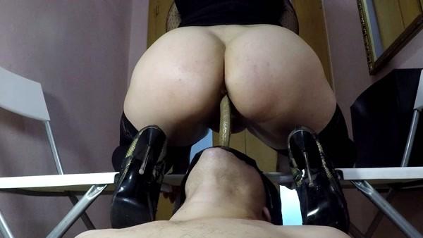 Elenatoilet - Delicious shit for new slave [FullHD 1080p]