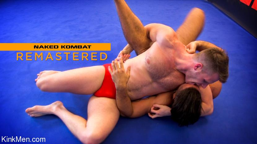 KinkMen - Brian Bonds & Trey Turner - Two Muscled Hunks Wrestle for Redemption!