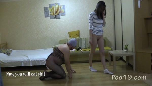 Mistress Karina - Turning toilet slave into toilet slut  [2020 / FullHD 1080p]