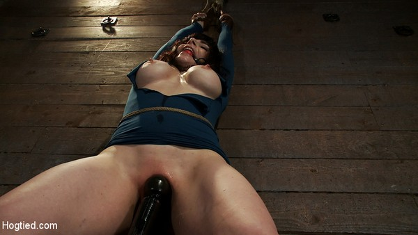 Annika - Big titted MILF, feels the evil bite of a crotch rope Orgasms are ripped out of her helpless body (HD 720p)