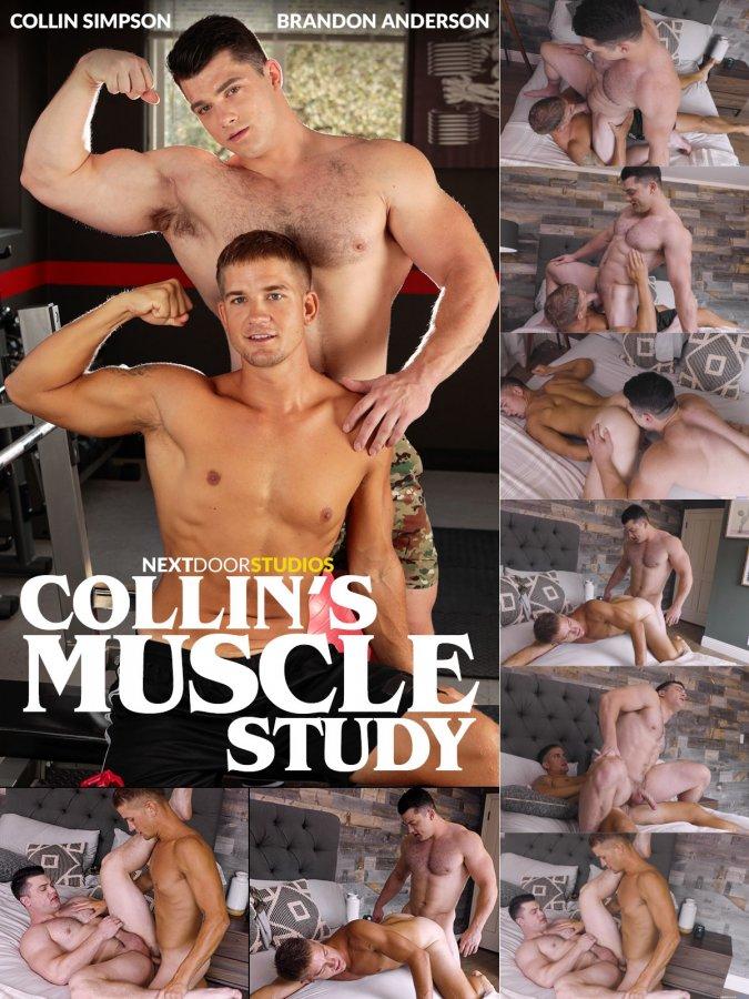 NextDoorBuddies - Brandon Anderson & Collin Simpson - Collins Muscle Study