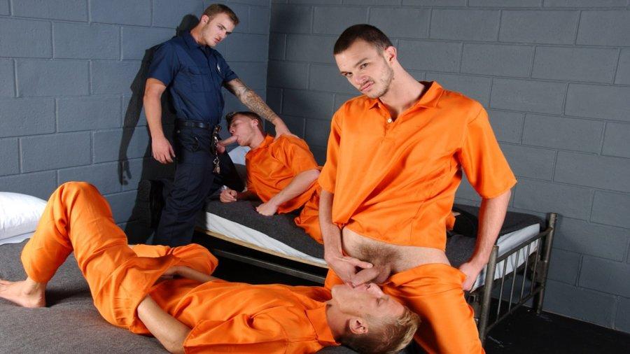 MEN - The Slammer - Philip Aubrey , Gavin Waters , Cliff Jensen , and Christian Wilde