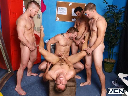 MEN - Jizz Orgy - The Strippers 1080p
