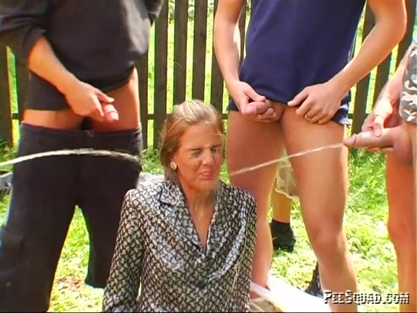 Pissing sex and Gangbang - SHE DOES IT ALL! (SD 540p)