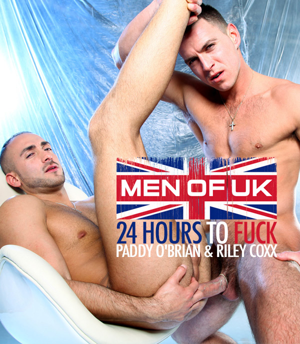 MEN - Men Of UK - Paddy O'Brian & Riley Coxx - 24 Hours To Fuck 720p