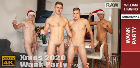WH - Xmas Wank Party 2020, Part 2 RAW - WANK PARTY