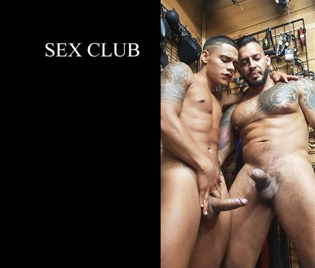 PapiThugz - Sex Club Raw Fuck - Randy Junior and Viktor Rom