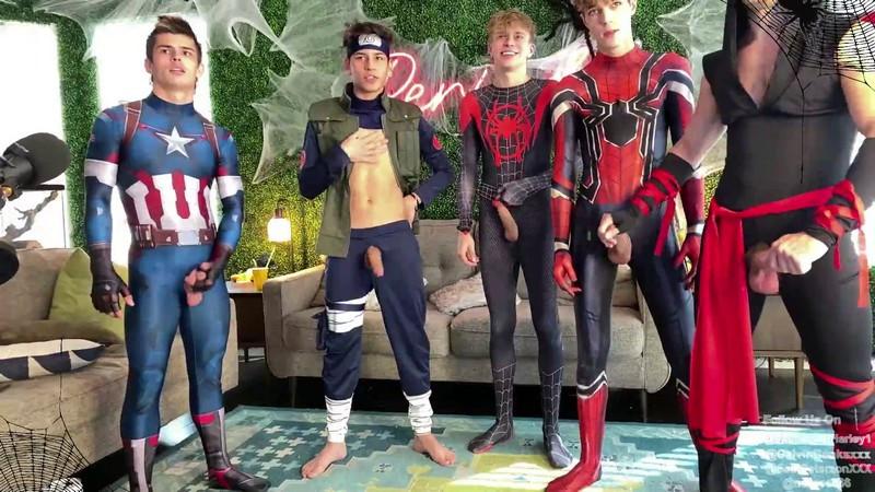 Avengers Orgy - Halloween group show