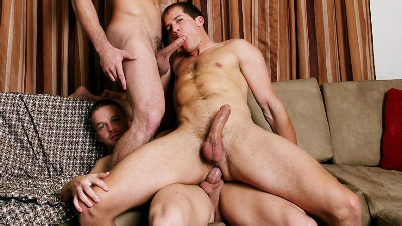 MEN - Str8 to Gay - Bromance - Brandon Lewis, Liam Magnuson & Jack King 720p