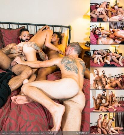 Masqulin - Boys Trip Part 3 - Jay Seabrook, Chad Taylor, Rikk York & Johnny Hunter