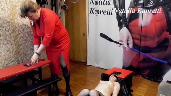 Natalia Kapretti - You trashcan, urinal and toilet bowl, bitch [FullHD 1080p]