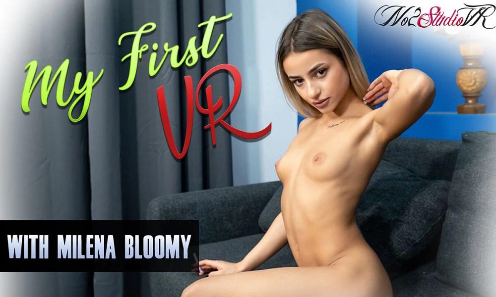 My First VR, Milena Bloomy, Dec 08, 2020, 3d vr porno, HQ 3160