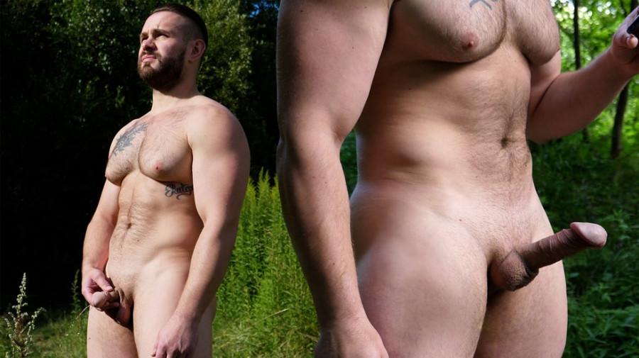 TheGuySite - Max 2 - Big Pec Russian In The Woods