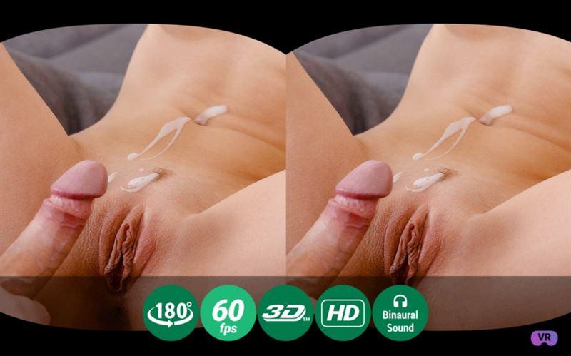 Sticky cream on flat tummy