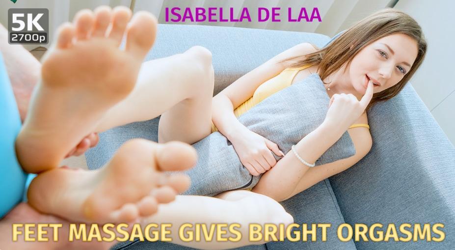 Feet massage gives bright orgasms, Isabella De Laa, January 1, 2021, 3d vr porno, HQ 2700