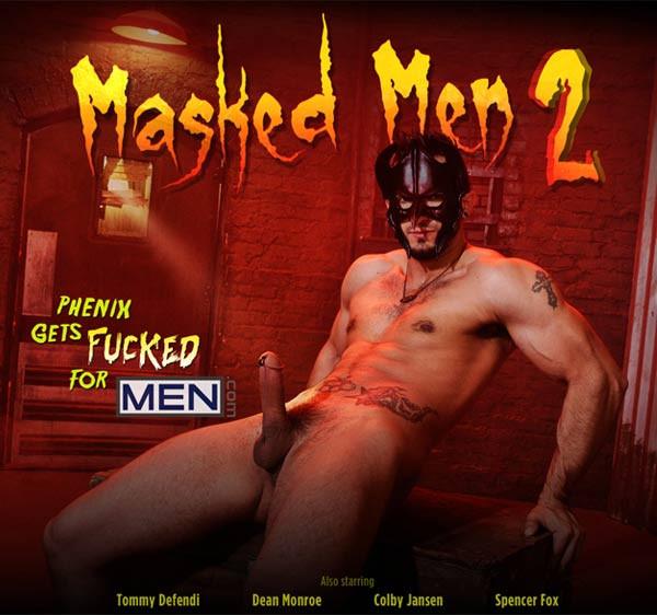 MEN - JizzOrgy - Masked Men 2 - Colby Jansen, Phenix Saint, Tommy Defendi, Dean Monroe & Spencer Fox