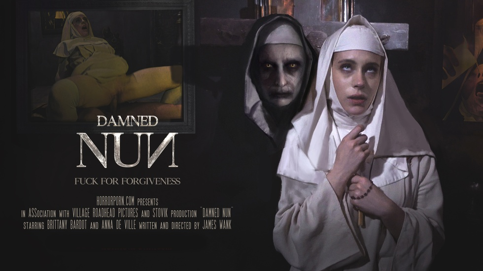 Damned Nun, Brittany Bardot, Anna De Ville, 3d vr porno, HQ 2880