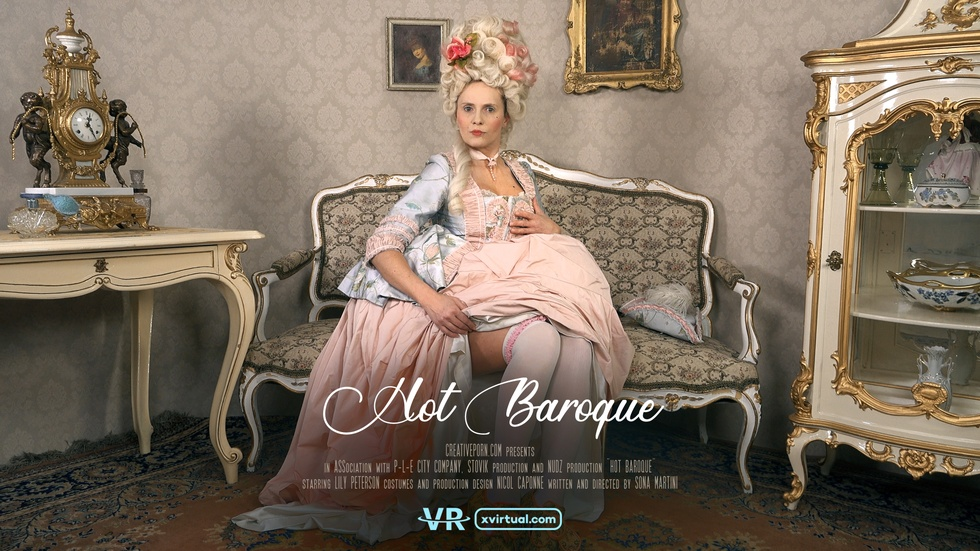 Hot Baroque, Lilly Peterson, 3d vr porno, HQ 2880