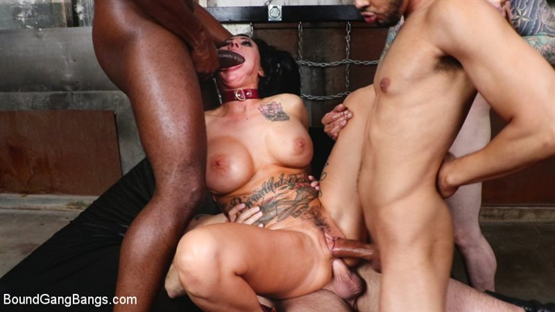 Buxom slut Lily Lane takes all the cock and gets all the cum