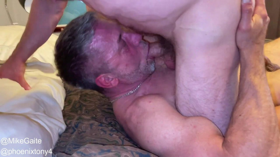 RawFuckClub - Mike Gaite & Phoenix Tony Flip Fuck, Part 1