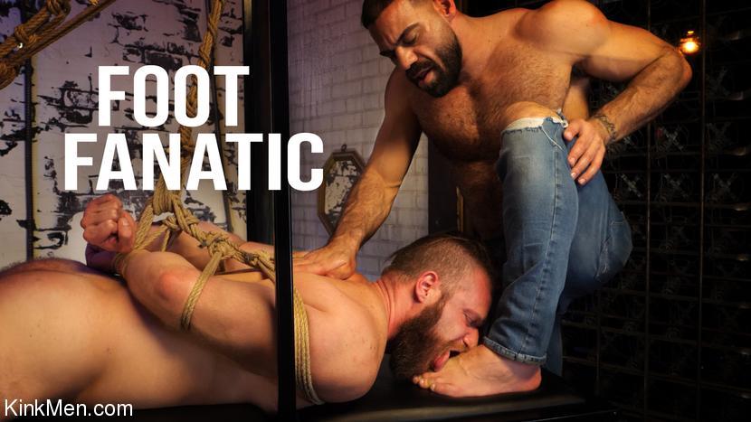 KinkMen - Ricky Larkin & Brian Bonds - Foot Fanatic