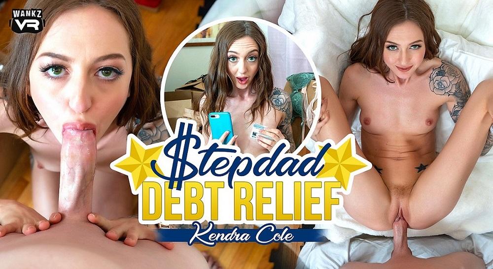 Stepdad Debt Relief, Kendra Cole, 5 March, 2021, 3d vr porno, HQ 3600