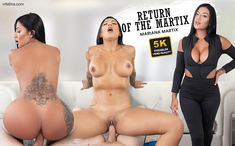 Return Of The Martix, Mariana Martinez, Feb 27, 2021, 3d vr porno, HQ 2650