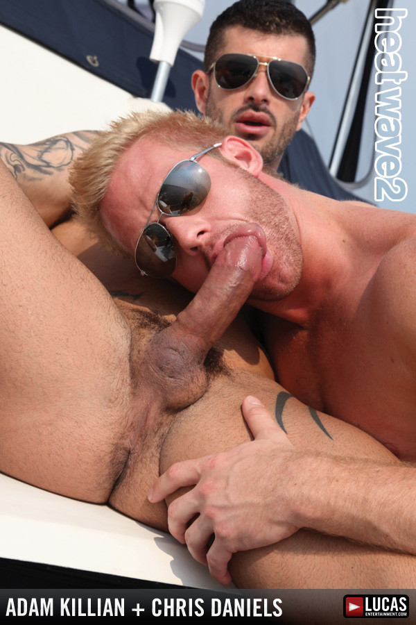 LucasEntertainment - Heat Wave 2 - Adam Killian Fucks Blond Hunk Chris Daniels At Sea