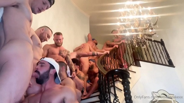 OnlyFans - LetsEatCakeXx - The Lost Weekend - Orgy At The Gayboy MANsion