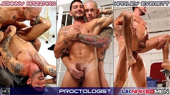 UKNakedMen - The Proctologist - Johnny Hazzard and Harley Everett