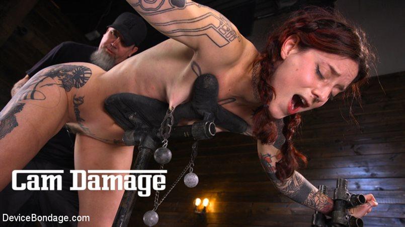 Cam Damage: First Time Torment For A Badass