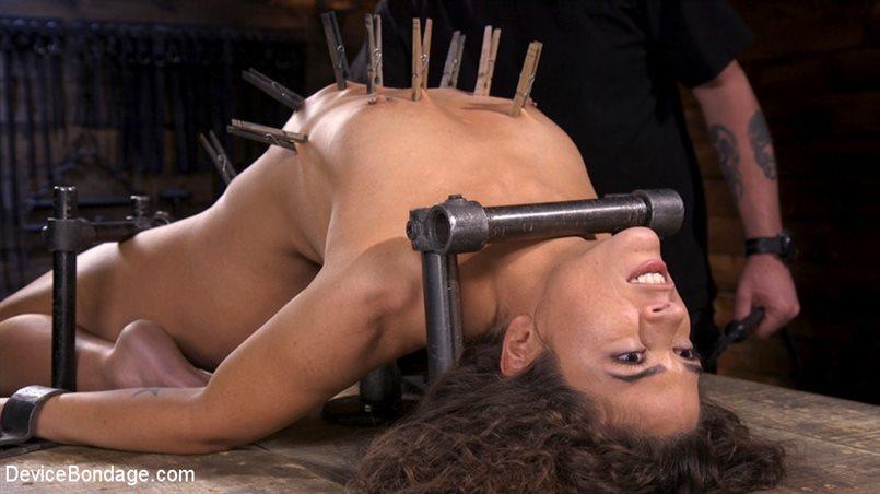 Victoria Voxxx Endures Extreme Torment in Grueling Steel Bondage