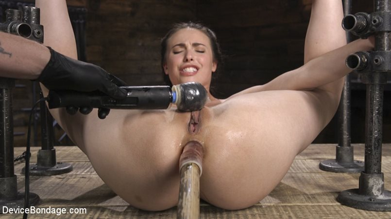 Petite Babe Casey Calvert Humiliated with Anal and Brutal Foot Torment