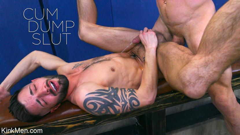 KinkMen - Cum Dump Slut - Johnny Ford and Casey Everett RAW