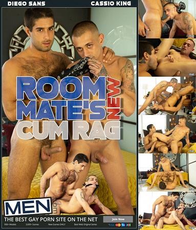 MEN - Diego Sans & Casio King - Roommate's New Cum Rag