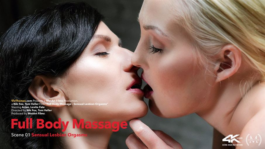Full Body Massage Episode 1 - Sensual Lesbian Orgasms