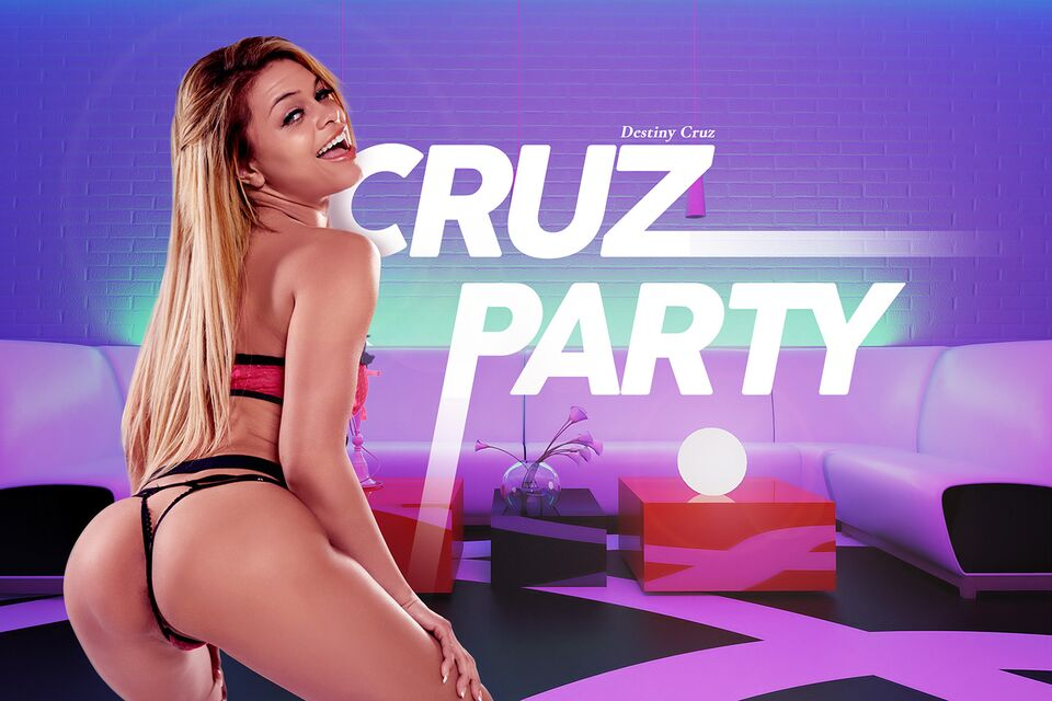 Cruz Party, Destiny Cruz, March 28, 2021, 3d vr porno, HQ 3584