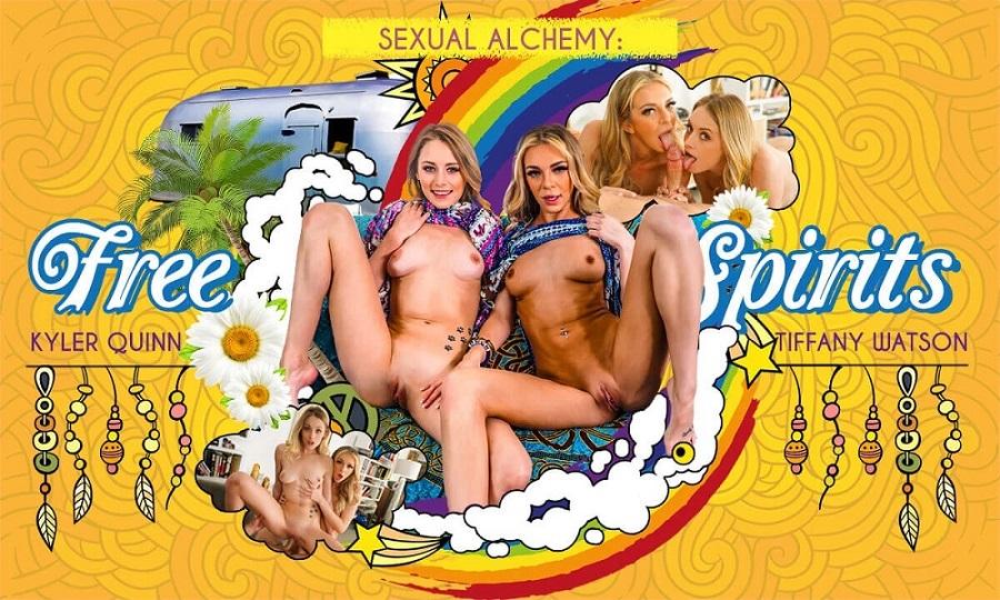 Sexual Alchemy: Free Spirits, Tiffany Watson, Kyler Quinn, Mar 29, 2021, 3d vr porno, HQ 2900