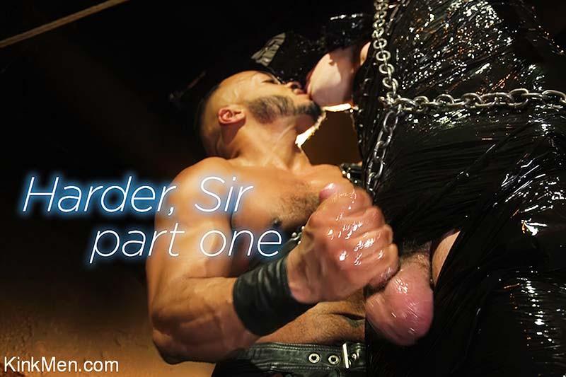 KinkMen - Dillon Diaz & Tony Orlando - Harder, Sir Part One