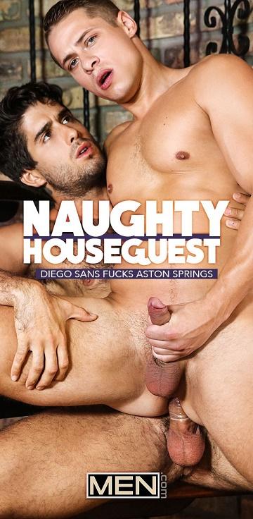 MEN - DrillMyHole - Naughty Houseguest Part 3 - Diego Sans & Aston Springs