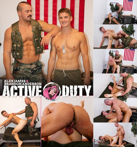 ActiveDuty - Alex Punishes Brandon Anderson
