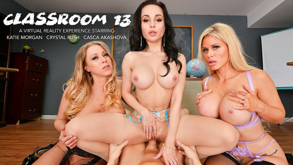 MILF Professors, Casca Akashova, Crystal Rush, Katie Morgan, March 05, 2021, 3d vr porno, HQ 2048