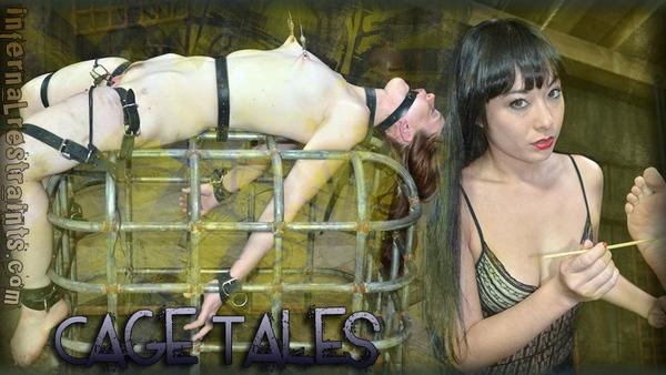 Hazel Hypnotic, Nyssa Nevers - BDSM and Bondage - Cage Tales (SD 480p)