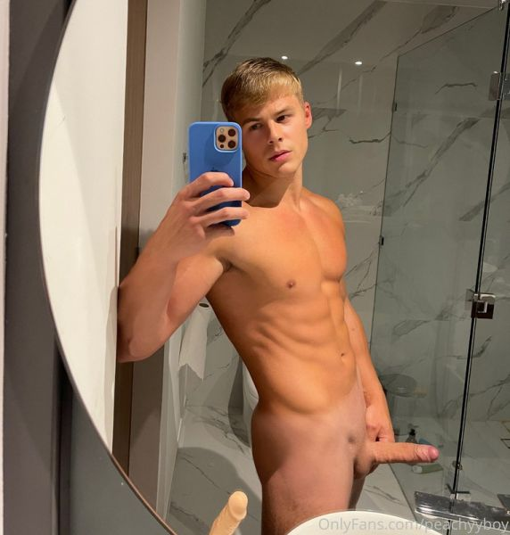 OnlyFans - PEACHY BOY - Need someone to come and finger me up against the shower wall